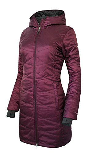 5bb56cc386a06 COLUMBIA WOMEN S MORNING LIGHT OMNI HEAT LONG JACKET COAT PUFFER (SMALL)